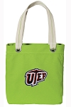 UTEP Miners Tote Bag RICH COTTON CANVAS Green