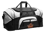 UVA Peace Frog Duffel Bags or University of Virginia Peace Frogs Gym Bags For Men or Women