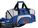 SMALL UVA Peace Frog Gym Bag University of Virginia Peace Frogs Duffle Blue