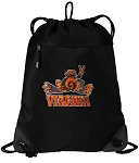 UVA Peace Frog Drawstring Backpack-MESH & MICROFIBER