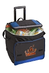 UVA Peace Frog Rolling Cooler Bag Blue