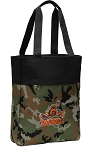 UVA Peace Frog Tote Bag Everyday Carryall Camo
