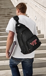 Virginia Tech Backpack Cross Body Style