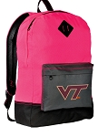 Virginia Tech Backpack HI VISIBILITY Virginia Tech Hokies CLASSIC STYLE For Her Girls Women