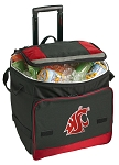 Washington State Rolling Cooler Bag Red