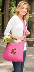 Washington State Tote Bag Sling Style Pink