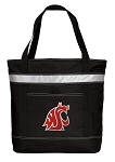 Washington State Insulated Tote Bag Black