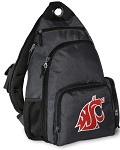 Washington State Backpack Cross Body Style Gray