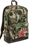 Washington State Camo Backpack