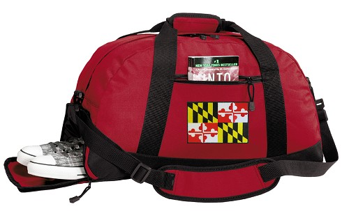 Maryland Duffle Bag Red