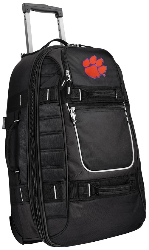 Clemson Rolling CarryOn Suitcase