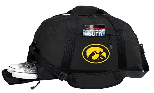 University of Iowa Hawkeyes Duffle Bag