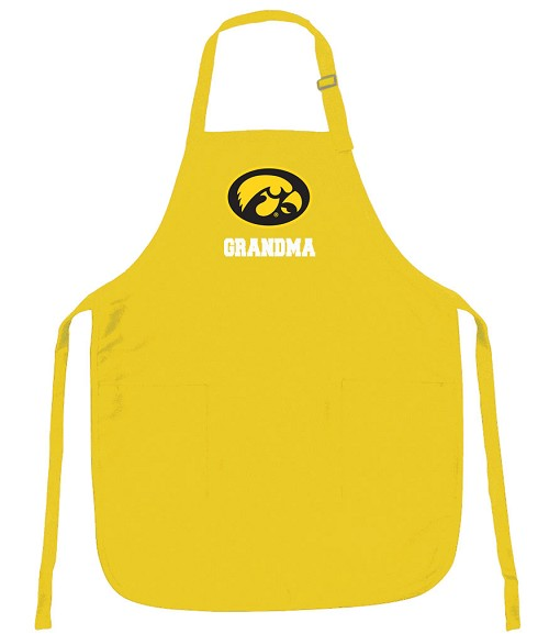 University of Iowa Grandma Apron - MADE in the USA!