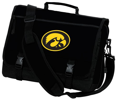 University of Iowa Hawkeyes Messenger Bags NCAA