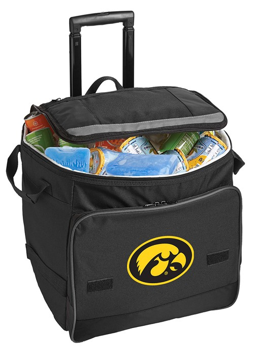 University of Iowa Hawkeyes Rolling Cooler