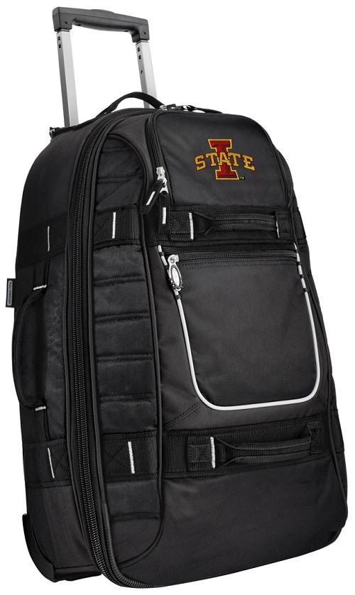 ISU Iowa State University CarryOn Suitcase