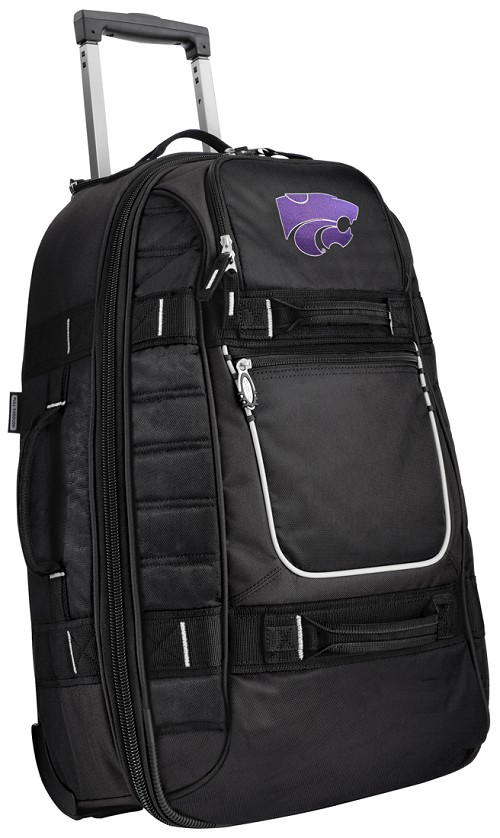 Kansas State University CarryOn Suitcase