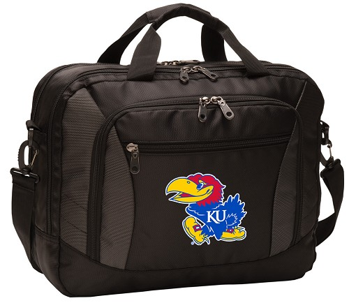 University of Kansas Messenger Laptop Bag